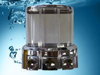 Chromovaný dávkovač na tekuté mýdlo 006C.