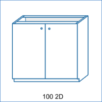 Dolní skříňka 100 2D LENA