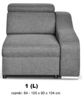 """Moduly DAVIDOFF k sestavení sedací soupravy - látky cenové skupiny III -modul """"1(L)"""""""