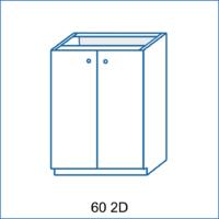 Dolní skříňka 60 2D LENA