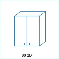 Horní skříňka 60 2D AGÁTA