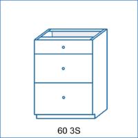 Dolní skříňka 60 3S LENA