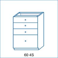 Dolní skříňka 60 4S AGÁTA