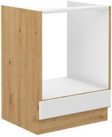Spodní skříňka na troubu STILO bílá/dub artisan