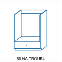Dolní skříňka 60 na troubu AGÁTA
