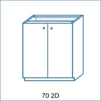 Dolní skříňka 70 2D LENA