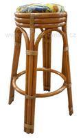 Ratanová barová stolička RN8011