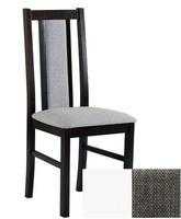 Židle s čalouněním Boss 14 - bílá, látka č 3