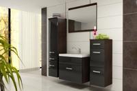 Koupelnová sestava EDITA černý lesk