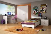 Dětský nábytek DOMINO II bílý