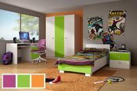 Dětský nábytek DOMINO II bílá/barva
