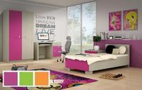 Dětský nábytek DOMINO jasan/barva
