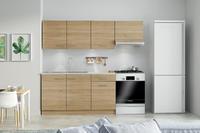 Kuchyňská linka HIT 120+60 cm, dub sonoma