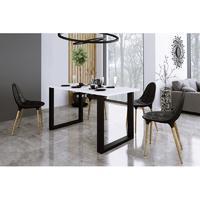 jídelní stůl IMPERIAL 138x67 bílý
