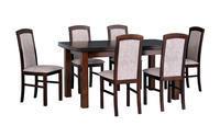 Jídelní sestava, stůl KENT 2 a židle NILO 5