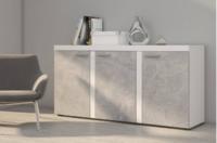 Komoda RUMBA 3D, beton jasný