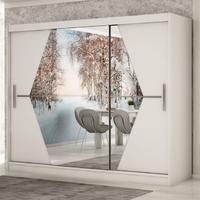 Skříň BOLIWIA - 250 x 200 x 62 cm