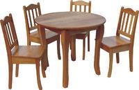 Kulatý jídelní stůl S15 90 cm MDF
