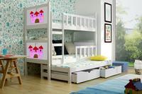 Dětská patrová postel PINOKIO 3