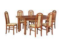 Jídelní sestava, stůl LUDVIK I a židle PIANO I, dub
