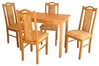 Jídelní sestava Stůl Max I+Židle Boss IX