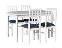 Jídelní sestava, stůl MAX 5 P a židle BOSS 4