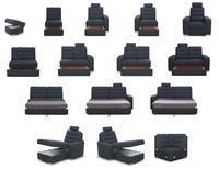 Moduly BENTLEY k sestavení sedací soupravy - látky cenové skupiny V
