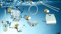 Sada koupelnových doplňků PH1200 Chrom/Zlato