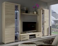 Obývací stěna RUMBA XL, dub sonoma