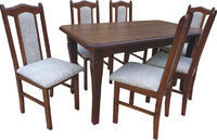 Rozkládací stůl S4 MDF 140x80(+2x35) cm