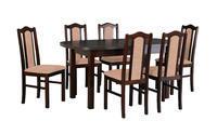 Jídelní sestava, stůl WENUS 1 a židle BOSS 2