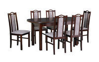 Jídelní sestava, stůl WENUS 1 a židle BOSS 9