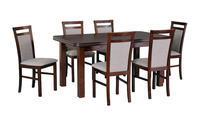 Jídelní sestava, stůl WENUS 5  a židle MILANO 5