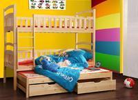 Dětská patrová postel FOX 7 s přistýlkou
