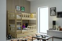 Dětská patrová postel FOX 8