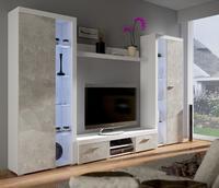 Obývací stěna RUMBA XL, beton jasný