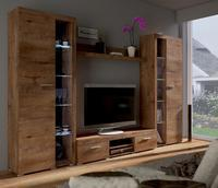 Obývací stěna RUMBA XL, dub lefkas
