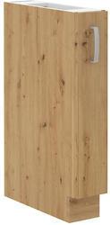 Spodní skříňka 15 D CARGO ARTISAN CAPPUCCINO lesk / dub artisan - 1/2