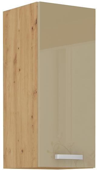 Horní skříňka 30 G ARTISAN CAPPUCCINO lesk / dub artisan  - 1