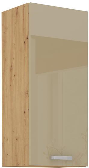 Horní skříňka 40 G ARTISAN CAPPUCCINO lesk / dub artisan