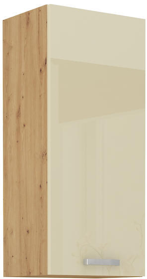 Horní skříňka 30 G-90 ARTISAN KRÉM lesk / dub artisan