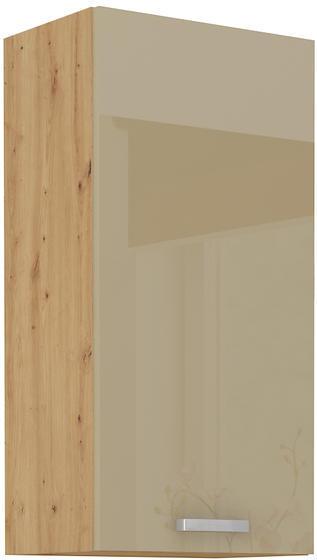 Horní skříňka 45 G ARTISAN CAPPUCCINO lesk / dub artisan