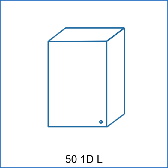 Horní skříňka 50 1D REMI  - 1
