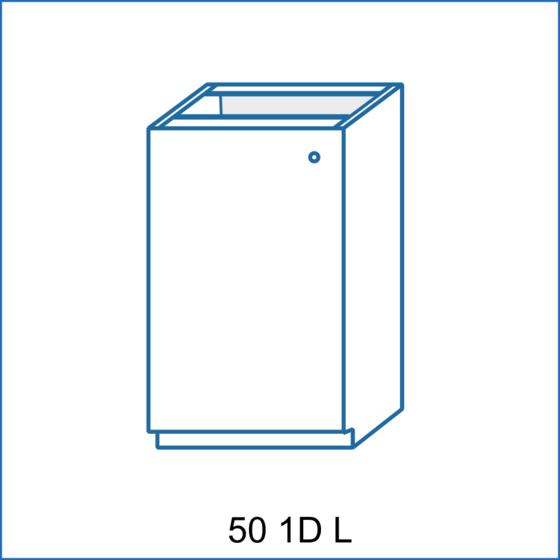 Dolní skříňka 50 1D REMI  - 1