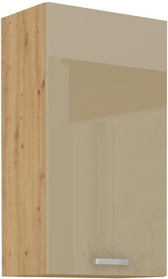 Horní skříňka 50 G ARTISAN CAPPUCCINO lesk / dub artisan