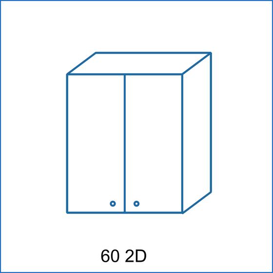 Horní skříňka 60 2D REMI