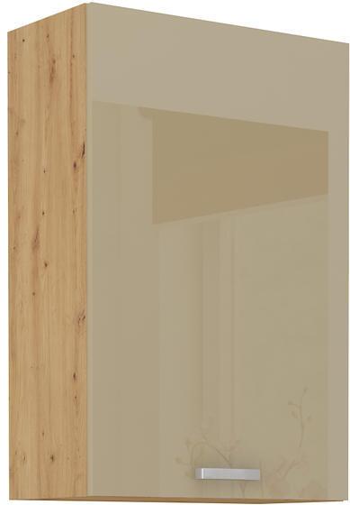 Horní skříňka 60 G ARTISAN CAPPUCCINO lesk / dub artisan