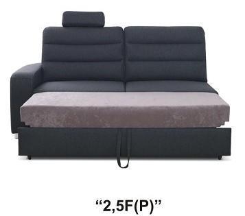 """Moduly BENTLEY k sestavení sedací soupravy - látky cenové skupiny IV -modul """"2,5F(P)"""""""