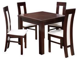 Rozkládací stůl S12 MDF 90x90(+2x50) cm - 1/2