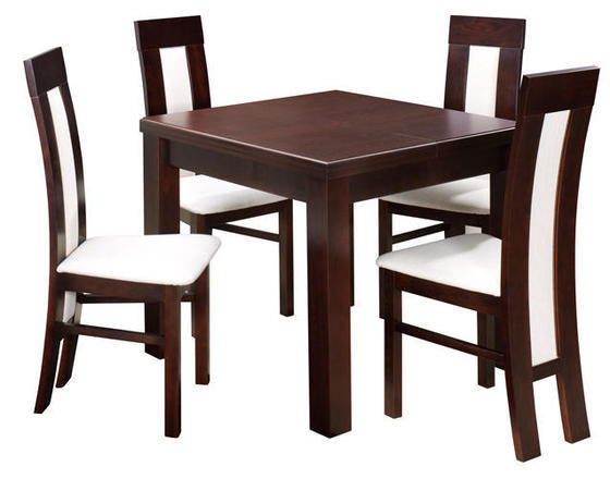 Jídelní sestava, stůl S12 a židle K24  - 1